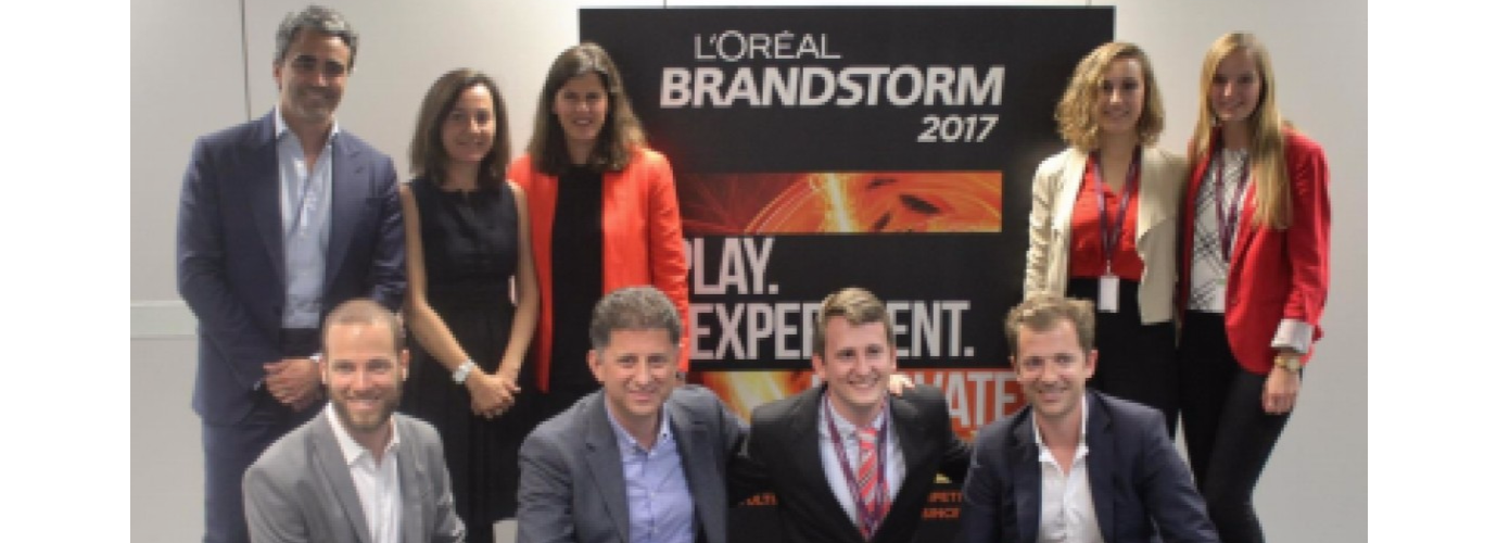 Three students at UC3M win the national final of L'Oréal Brandstorm 2017