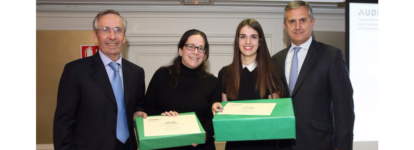 """A student of the UC3M´s Dual Bachelor in Law and Business Administration, winner of the contest of """"Instituto de Censores Jurados de Cuentas de España (ICJCE)"""" 2017."""