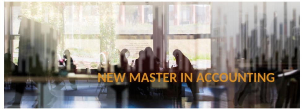 New Master in Accounting (open admission period).
