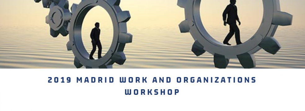 2019 Madrid Work and Organizations Workshop.