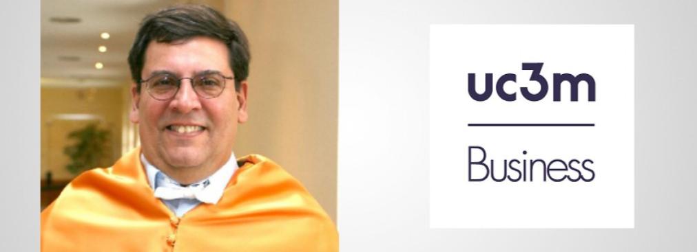 Prof. Luis Gómez Mejía visits UC3M Business
