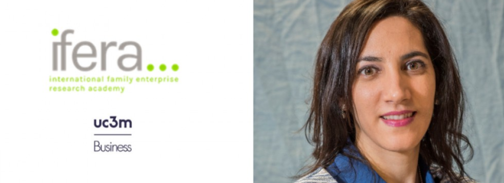 Prof. Maria José Sánchez Bueno awarded with the Best Reviewer Award IFERA Conference