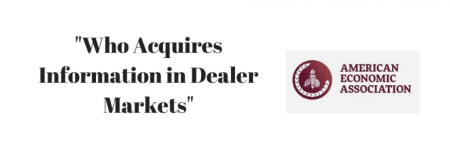 El trabajo de Jesper Rüdiger y Adrien Vigier aceptado para la publicación en la American Economic Review