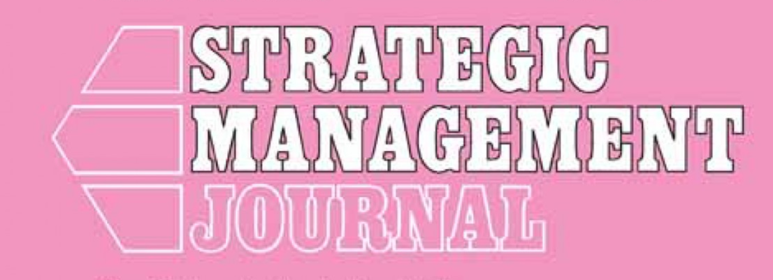 Josep Tribó and Kurt Desender's article forthcoming in the Strategic Management Journal