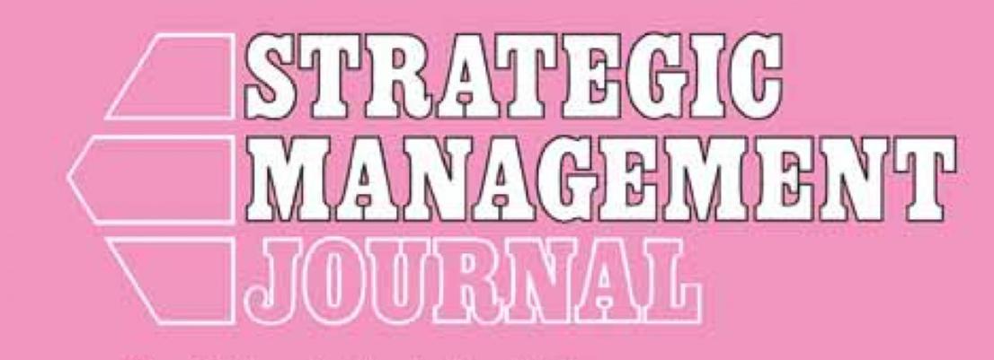 El artículo de Josep Tribó y Kurt Desender se publicará próximamente en la revista Strategic Management Journal