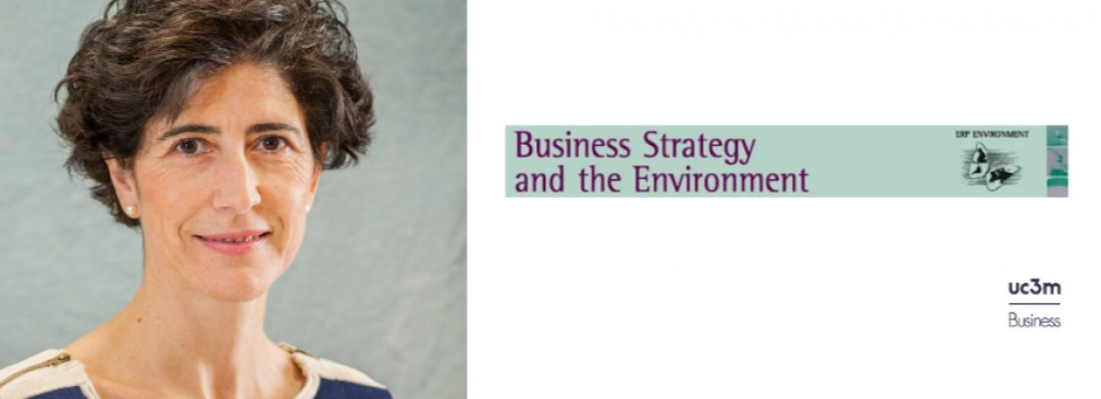 Ester Martinez Ros' work, published in Business Strategy and the Environment