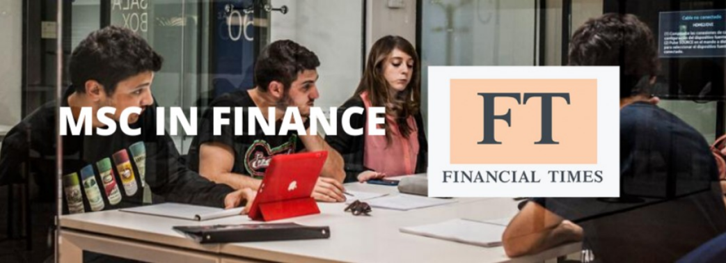 UC3M Master in Finance among the top in the world according to the Financial Times