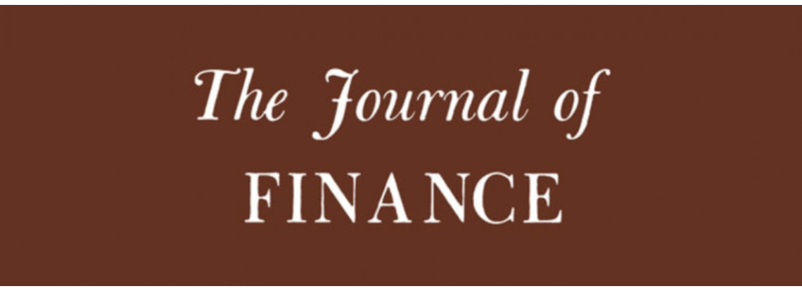 El trabajo de Pablo Ruiz Verdú y Ravi Singh aceptado para la publicación en Journal of Finance