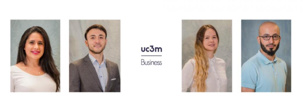Cuatro PhD candidates de UC3M Business se unirán a las principales universidades europeas en el próximo año académico