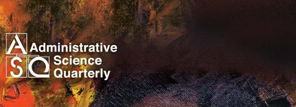 El trabajo de Samira Reis, Olga Khessina, and Cameron Verhaal aceptado para la publicación en Administrative Science Quarterly