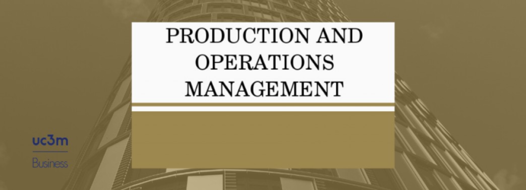 El trabajo de Gemma Berenguer y Chong Hyun Park publicado en Production and Operations Management