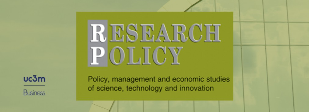 Adrian Merida and Vera Rocha's work published in Research Policy