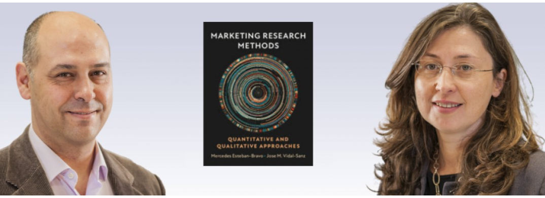 UC3M Business Prof. Mercedes Esteban-Bravo and Jose M. Vidal-Sanz publish a new book on Marketing Research