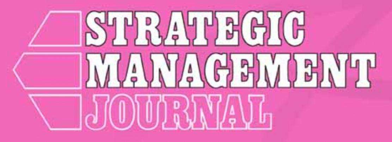 El trabajo de Raffaele Morandi, Andrea Fosfuri, y Juan Santaló aceptado para la publicación en Strategic Management Journal